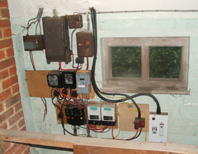 replacing old fuse box fusebox replacement   new consumer units  fusebox replacement   new consumer units